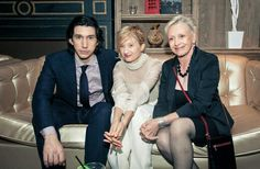 Adam Driver with Hungry Hearts co-stars Alba Rohrwacher and Roberta Maxwell Adam Driver Movies, Hungry Hearts, Tall Guys, For Stars, Famous Faces, Super Powers, Big Boys, Star Wars, Celebrities