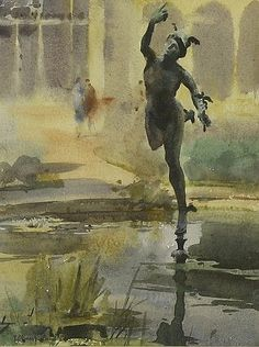 Buy online, view images and see past prices for *Trevor Chamberlain MERCURY, SYON HOUSE. Invaluable is the world's largest marketplace for art, antiques, and collectibles. Watercolor Art, Landscape Paintings, Photo, Painting People, Artist, Painting, Watercolor Landscape Paintings, Portrait