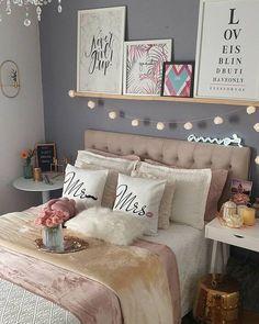 Teen Room Decor, Room Ideas Bedroom, Diy Bedroom Decor, Home Decor, Dorm Room Designs, Home Room Design, Master Bedroom Interior, Aesthetic Room Decor, Girl Room