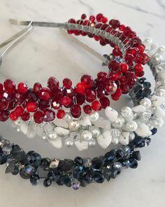 Fascinator, Headpiece, Jeweled Headband, Fairy Crown, Beaded Brooch, Bandeau, Ornament Wreath, Beaded Embroidery, Headbands