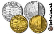 Monedas Conmemorativas de los 50 años de la Creación del Banco Central de Venezuela