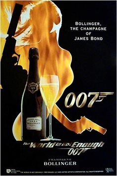 Bollinger Champagne, by 007  Miss my Bubbas named after this....