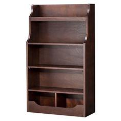 Mori 5 Shelf Kids Bookcase - Brown