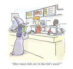 Halloween Cartoons, Halloween Fun, Halloween Humor, Funny Halloween Pics, Halloween Sayings, Scream Halloween, Halloween Witches, Halloween Pictures, Holidays Halloween