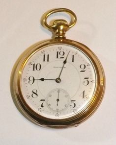 Antique Waltham 18 Size 23 Jewel Model 1892 Vanguard Railroad Grade Pocket Watch | eBay