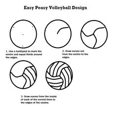 volleyball decorated cookies how to - Bing Images … Volleyball Snacks, Volleyball Cupcakes, Volleyball Birthday Party, Volleyball Locker Decorations, Volleyball Crafts, Volleyball Designs, Volleyball Mom, Volleyball Drills, Volleyball Quotes