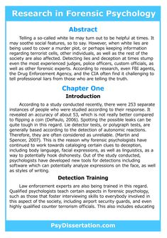 Dissertation and requirements psychology