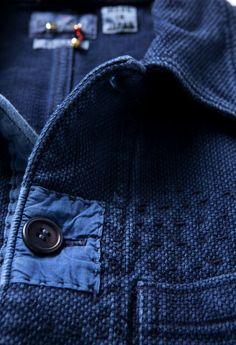 """"""" Blue Blue Japan.- Texture """" #style #fashion #men"""