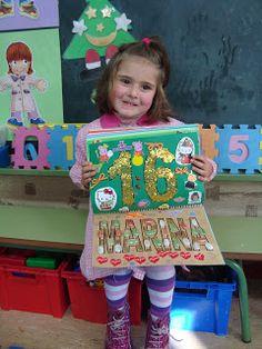 Plastificando ilusiones: Marina Z. y El libro decorado de los nombres