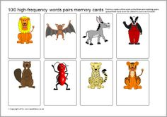 A set of over 100 editable flash cards each featuring a unique picture. Add your own words to create fun flash cards for all sorts of uses. Particularly good for producing pairs/memory games with words of your choice. Flash Card Template, Card Templates, Primary Classroom, Classroom Activities, Classroom Ideas, Free Teaching Resources, High Frequency Words, School Daze, Memory Games