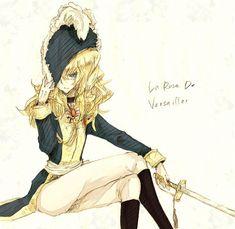fan Art of Versailles no Bara for fans of The Rose of Versailles 35076248 Manga Art, Manga Anime, Lady Oscar, Comic Movies, Manga Games, Pretty Art, Japanese Art, Fanart, Character Design