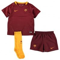 2016/2017 As Roma Home Shirt For Kids