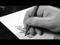 Brush Pen Lettering of #Bucketlist