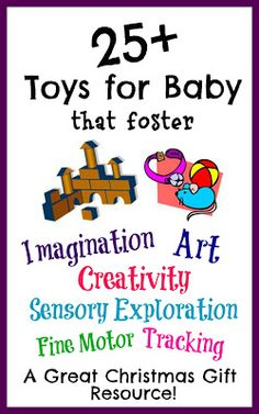 25+ Baby Toys to Foster Exploration
