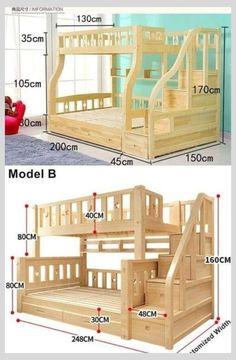 Bedroom Bed Design, Home Room Design, Kids Room Design, Bedroom Decor, Kids Bedroom Designs, Decor Room, Bedroom Wall, Wall Decor, Baby Room Furniture
