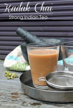 Kadak Chai | Strong Indian Tea #chai