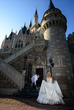 Cinderella inspired moment at Walt Disney World.