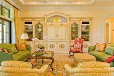 Interior Designer Jupiter Florida - Country French Estate