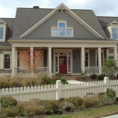Exterior House Colors | front door is the main entry point for most homes, and a bold color ...