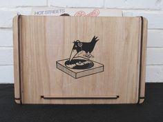 Vinyl LP Storage Box by RomanyHouse on Etsy - Great storage for the Vinyl buff!  From:  Romanyhouse