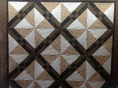 Pinwheel by Jessica's Quilting Studio, via Flickr