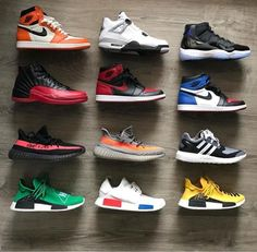 Choose 1 and tag a friend! Men's Shoes, Nike Shoes, Shoes Sneakers, Sneakers Wallpaper, Baskets, Vintage Nike, Shoe Collection, Sneakers Fashion, Casual Shoes