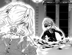 """""""I will never leave you behind.""""  Ciel and Lizzie"""