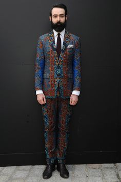 LFW 2013, Dent de Man suit Zippertravel.com Digital Edition