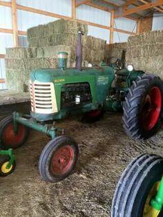 OLIVER SUPER 77 Antique Tractors, Vintage Tractors, Old Tractors, Old Farm, Rubber Tires, Trucks, Toys, Tractors, Antique Cars