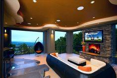 Iluminación dicroicas tipo led 5W + Downlight tipo led 30W para instalaciones de bajo consumo