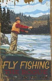 Fly Fishing Vintage Wood Sign Art Rustic Outdoors Fishing Hunting Antique Ads Advertisements Pictures Wall Artwork Home Decor Nostalgic Best Fishing Kayak, Fly Fishing Books, Fly Fishing Gear, Gone Fishing, Fishing Gifts, Trout Fishing, Bass Fishing, Fishing Meme, Fishing Trips