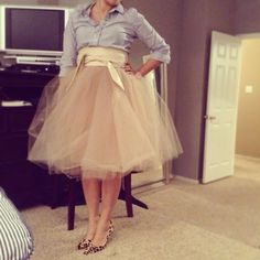 DIY TUTU SKIRT MADE BY ME :)