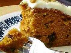 ほどよい甘さのキャロットケーキの画像