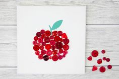 This beautiful DIY craft is a perfect teacher appreciation gift that can me made by children. Thank You Presents, Presents For Teachers, Diy And Crafts, Crafts For Kids, Adult Crafts, Teacher Appreciation Gifts, Teacher Gifts, Teacher Thank You Cards, Pinterest Crafts