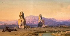 Why Did the Giant Egyptian Statue Sing at Dawn? Re-Discovering the Colossi of Memnon