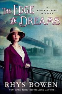 The Edge of Dreams, by Rhys Bowen (review by The Bookwyrm's Hoard)