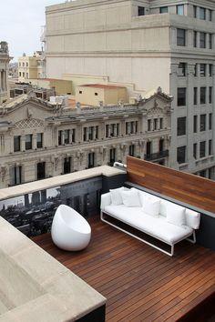 The upper floor Suites feature terraces. #Jetsetter