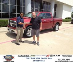 https://flic.kr/p/w7XhCA | #HappyAnniversary to Daniel Davis on your 2013 #Ram #1500 from Hamed Awadi at Huffines Chrysler Jeep Dodge Ram Lewisville! | www.huffinesdodge.com/?utm_source=Flickr&utm_medium=D...