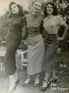Sweater Girls 1950