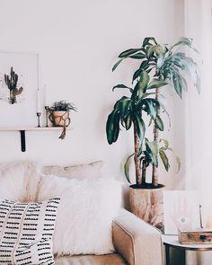Home Decor Ideas For Living Room Small Boho Living Room, Living Room Modern, Living Room Designs, Living Room Decor, Decoration Plante, Elegant Home Decor, Home Decor Inspiration, Decor Ideas, Room Ideas