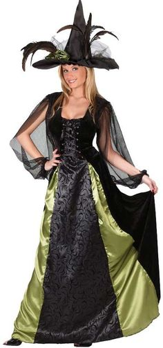 womens adult maiden gothic witch costume mr costumes - Mystical Halloween Costumes