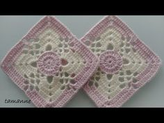 Arielle's Square Baby Blanket crochet project by Deborah O Crochet Video, Crochet Chart, Crochet Motif, Granny Square Crochet Pattern, Crochet Squares, Baby Afghan Crochet, Crochet Blanket Patterns, Easy Sweater Knitting Patterns, Granny Square Quilt
