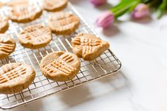 Peanut Butter Cookies with Oat Flour | the whinery