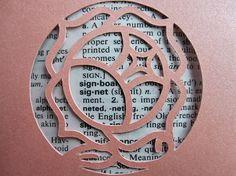 Revolutionary Girl Utena Rose Signet - Custom Cut Bookmark #RevolutionaryGirlUtena #ShoujoKakumeiUtena #Utena