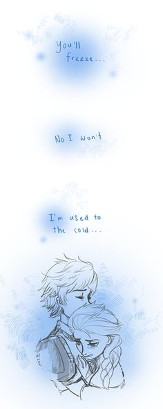 Hiccelsa - Hiccup and Elsa comic. *Sniff, sniff* So beautiful! :'). I don't ship this but it's really cute