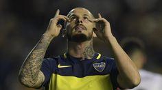 "Wallpaper HD de Dario ""el pipa"" Benedetto el goleador de Boca Juniors #futbolbocajuniors"