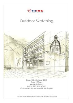 Outdoor Sketching pinned with Pinvolve