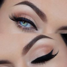 This look for everyday!  Sans lashes. ♥ Megan Fox Inspired Look