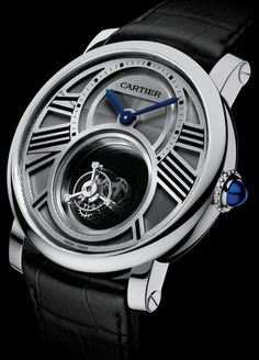 Rotonde de Cartier Mysterious Double Tourbillon, calibre 9454 MC