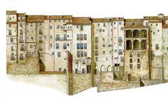 World Photo, Spain, Photo Wall, Floor Plans, Drawings, Html, Buildings, Ideas, Urban Sketching